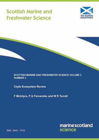 Scottish Marine and Freshwater Science Volume 3 Number 3