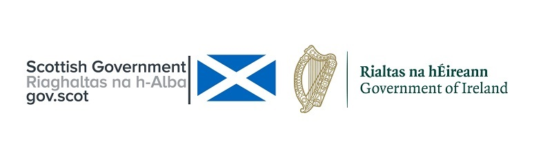 Irish and Scottish Government logos