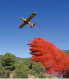 Photo B8.2 A retardant drop
