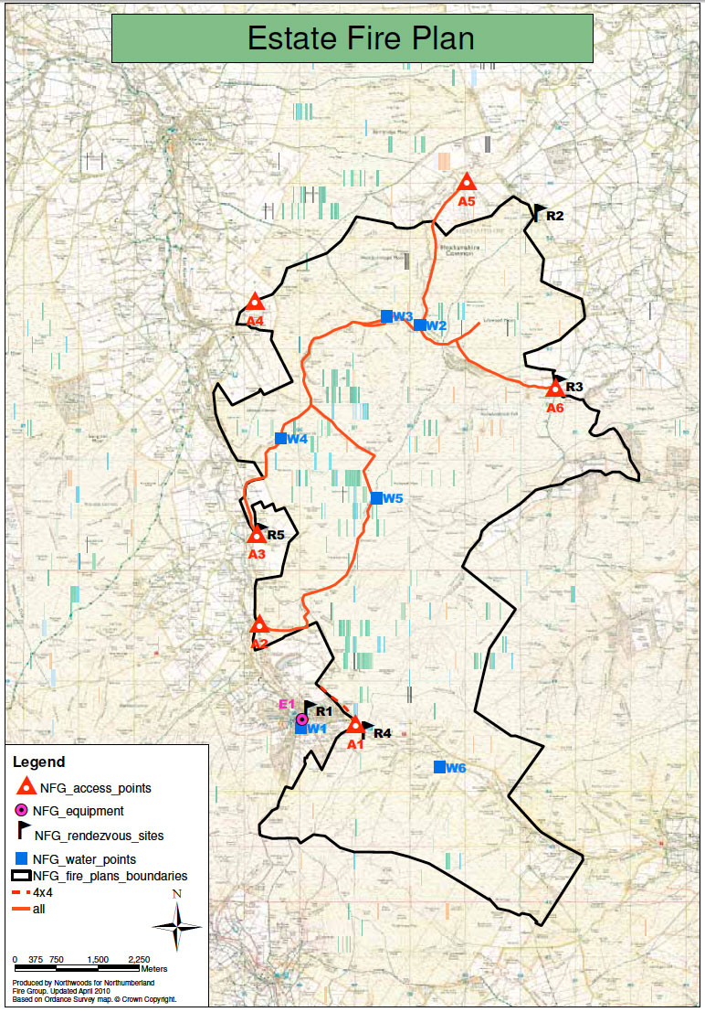 Appendix 1 An Example of a Fire Plan