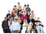 Photo of people with learning disabilities that do voluntary work