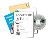 Application pack with CD