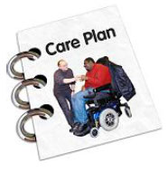 Care plan booklet
