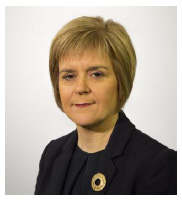 The Rt Hon Nicola Sturgeon MSP First Minister of Scotland