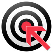 target with arrow pointing to bullseye