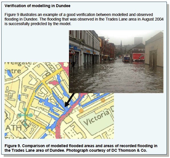 Verification of modelling in Dundee