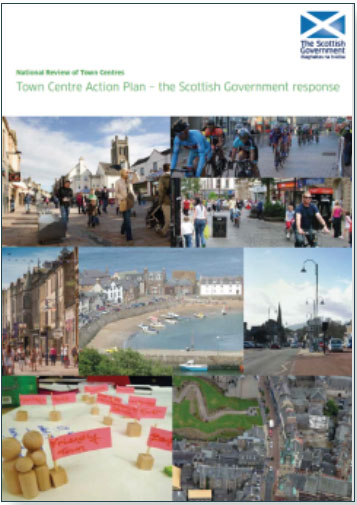 Town Centre Action Plan - Cover Example