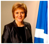First Minister of Scotland: Rt Hon Nicola Sturgeon MSP