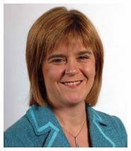 Nicola Sturgeon, MSP Deputy First Minister and Cabinet Secretary for Health and Well-being photo
