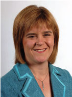 Photo of Nicola Sturgeon Deputy First Minister and Cabinet Secretary for Health and Wellbeing