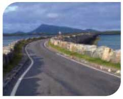 Causeway in the Uists