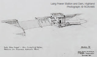 Lairg Power Station and Dam, Highland