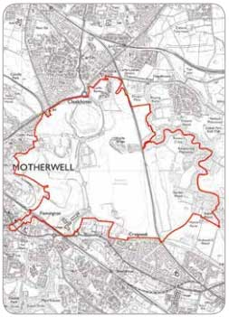 Map - Motherwell