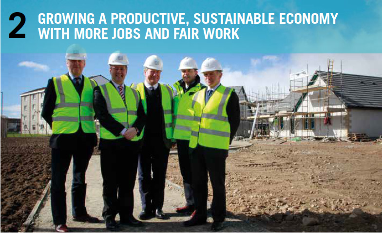 Keith Brown MSP. Cabinet Secretary for the Economy, Jobs and Fair Work