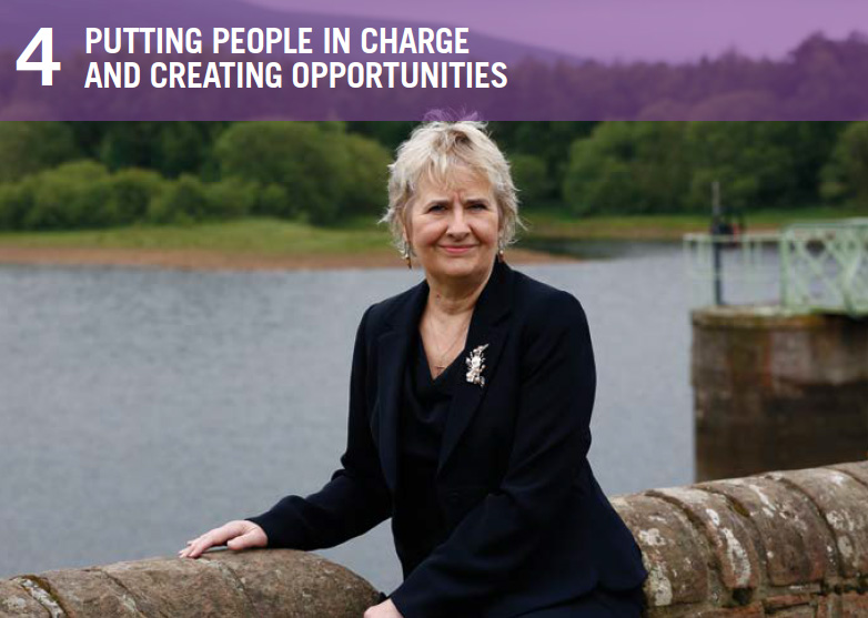 Roseanna Cunningham MSP, Cabinet Secretary for Environment, Climate Change and Land Reform