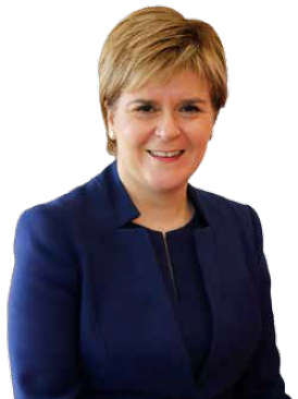 photograph of Rt Hon Nicola Sturgeon MSP, First Minister of Scotland