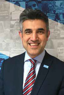 Sabir Zazai, Chief Executive, Scottish Refugee Council