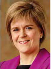 Nicola Sturgeon – First Minister of Scotland
