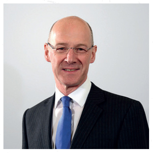 John Swinney MSP, Deputy First Minister and Cabinet Secretary for Education and Skills