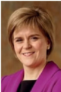 Nicola Sturgeon MSP First Minister