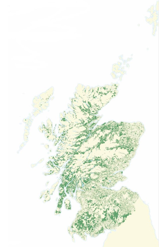 Scotland's forest and woodland cover
