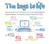 Cover of the The keys to life implementation framework document 2019-2021