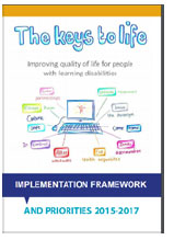 Cover of The keys to life implementation framework 2015-17