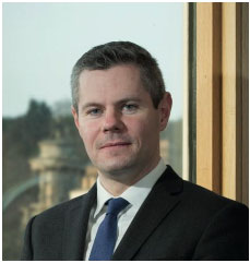 Derek Mackay MSP - Cabinet Secretary for Finance, Economy and Fair Work