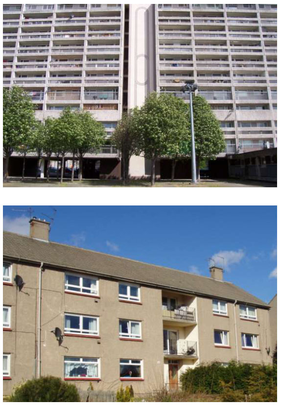 Hard-to-Treat case studies 5 - 8 System built flats 1950-64
