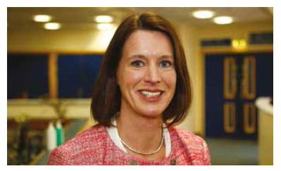 photograph of Dr Catherine Calderwood, MA Cantab FRCOG FRCP Edin, Chief Medical Officer for Scotland