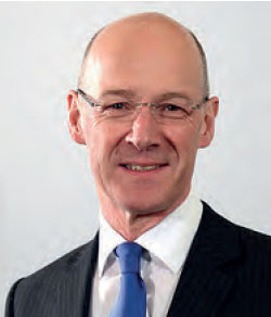 Photo of John Swinney - Deputy First Minister and Cabinet Secretary for Education and Skills