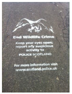 Police Scotland Wildlife Crime Awareness Campaign