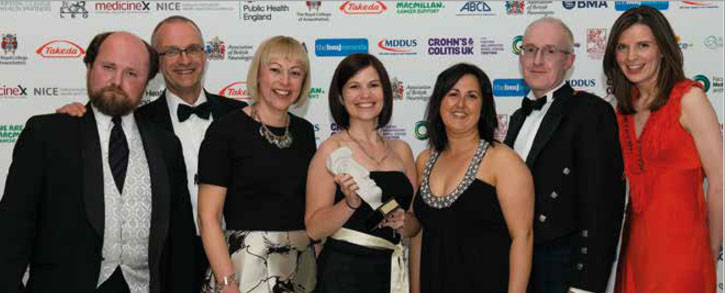 The INSPIRE team at the BMJ Awards Ceremony
