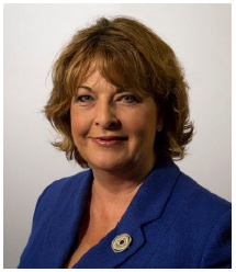 photograph of Fiona Hyslop, Cabinet Secretary for Culture, Tourism and External Affairs