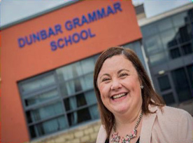 Into Headship, Claire Slowther, Dunbar Grammar School