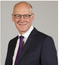 John Swinney Deputy First Minister and Cabinet Secretary for Education and Skills