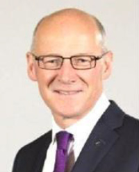 John Swinney Deputy First Minister and Cabinet Secretary for Education & Skills