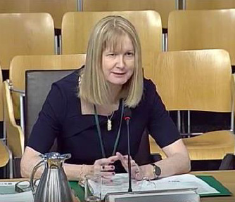 HM Chief Inspector giving evidence to the Justice Committee